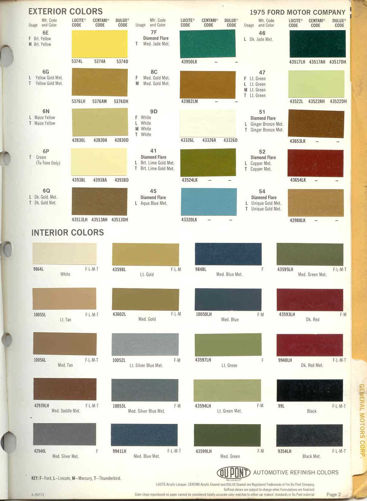 Torino paint colors 19752g 151270 bytes nvjuhfo Choice Image